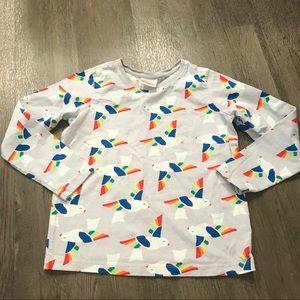 Hanna Andersson Rainbow Dove Shirt 🌈